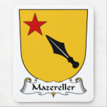 Escudo de la familia de Mazereller Tapetes De Ratón
