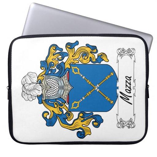 Escudo de la familia de Mazza Manga Portátil