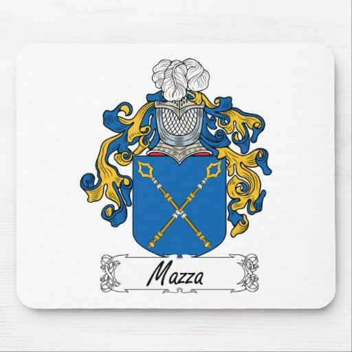Escudo de la familia de Mazza Mousepads