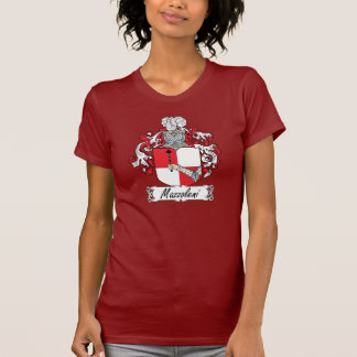 Escudo de la familia de Mazzoleni Camisetas