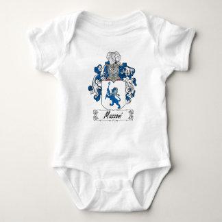 Escudo de la familia de Mazzoni Body Para Bebé