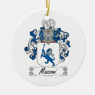 Escudo de la familia de Mazzoni