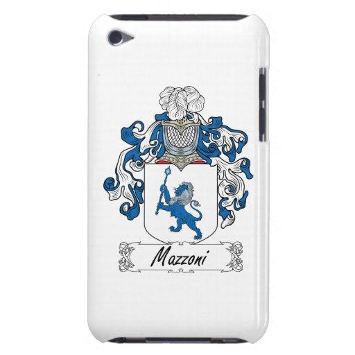 Escudo de la familia de Mazzoni Case-Mate iPod Touch Protector