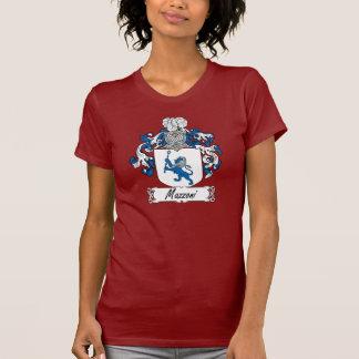 Escudo de la familia de Mazzoni Camisetas