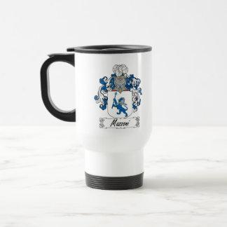 Escudo de la familia de Mazzoni Taza De Café