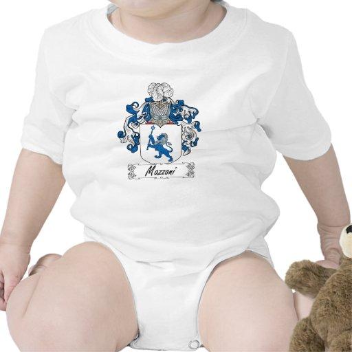 Escudo de la familia de Mazzoni Traje De Bebé