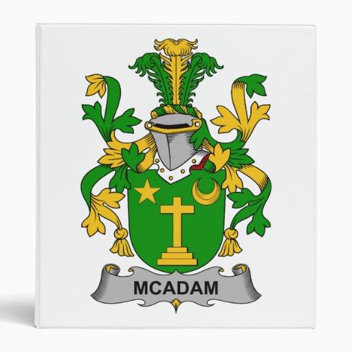 Escudo de la familia de McAdam