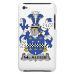 Escudo de la familia de McAleese Case-Mate iPod Touch Funda
