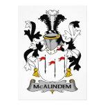 Escudo de la familia de McAlindem Comunicados
