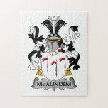 Escudo de la familia de McAlindem Rompecabezas