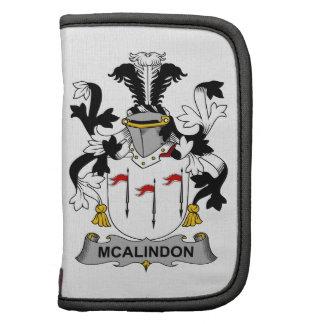 Escudo de la familia de McAlindon Planificador