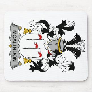 Escudo de la familia de McAlindon Alfombrilla De Ratón