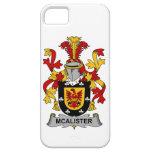 Escudo de la familia de McAlister iPhone 5 Case-Mate Coberturas
