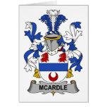 Escudo de la familia de McArdle Felicitaciones