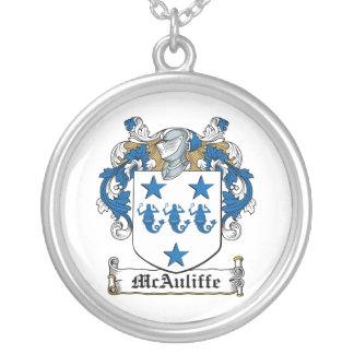 Escudo de la familia de McAuliffe Colgante Redondo