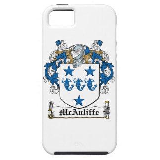 Escudo de la familia de McAuliffe iPhone 5 Carcasas