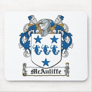 Escudo de la familia de McAuliffe Mousepads