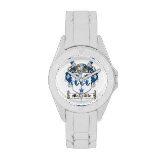 Escudo de la familia de McAuliffe Relojes De Pulsera