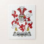 Escudo de la familia de McAwley Puzzles Con Fotos
