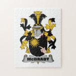 Escudo de la familia de McBrady Puzzle