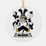 Escudo de la familia de McBray Ornamente De Reyes
