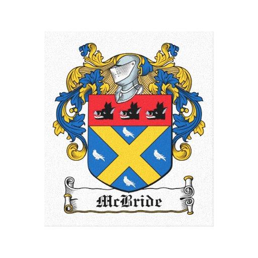 Escudo de la familia de McBride Impresion En Lona
