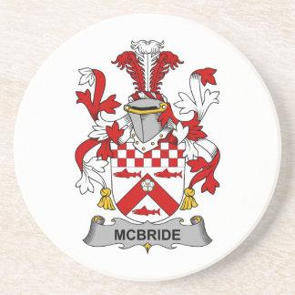 Escudo de la familia de McBride Posavasos Manualidades