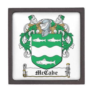 Escudo de la familia de McCabe Caja De Regalo De Calidad