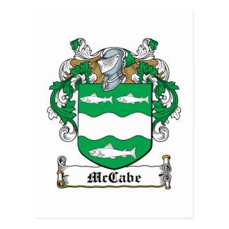 Escudo de la familia de McCabe Postales