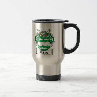 Escudo de la familia de McCabe Taza De Café