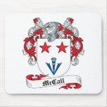 Escudo de la familia de McCall Alfombrilla De Raton