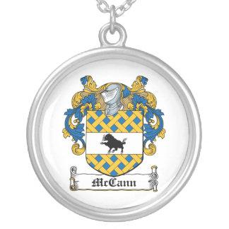 Escudo de la familia de McCann Colgante Redondo