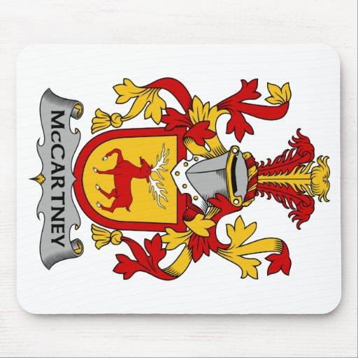 Escudo de la familia de McCartney Alfombrilla De Raton