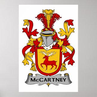 Escudo de la familia de McCartney Impresiones