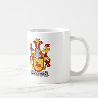 Escudo de la familia de McCartney Taza De Café