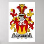 Escudo de la familia de McCashine Poster