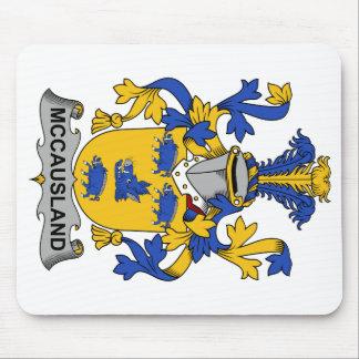 Escudo de la familia de McCausland Alfombrillas De Ratón
