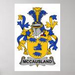 Escudo de la familia de McCausland Impresiones