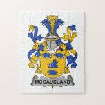 Escudo de la familia de McCausland Rompecabezas