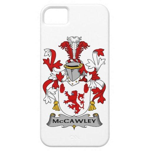 Escudo de la familia de McCawley iPhone 5 Coberturas