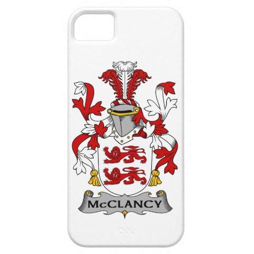 Escudo de la familia de McClancy iPhone 5 Carcasa
