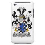 Escudo de la familia de McClave Case-Mate iPod Touch Carcasa