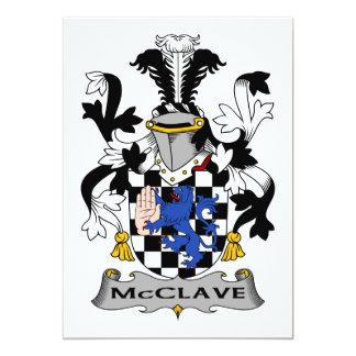 Escudo de la familia de McClave