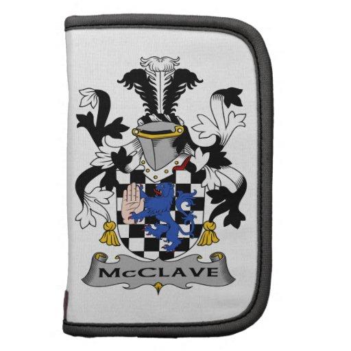 Escudo de la familia de McClave Organizador