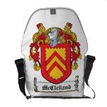 Escudo de la familia de McClelland Bolsa Messenger