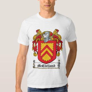 Escudo de la familia de McClelland Camisas