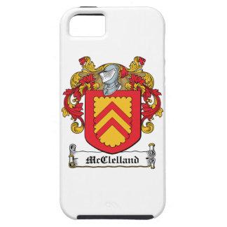 Escudo de la familia de McClelland Funda Para iPhone 5 Tough