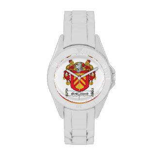 Escudo de la familia de McClelland Relojes De Pulsera