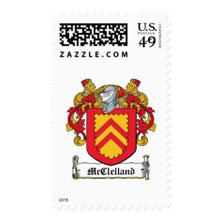 Escudo de la familia de McClelland Sellos