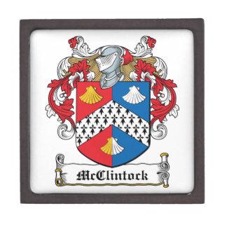 Escudo de la familia de McClintock Caja De Regalo De Calidad